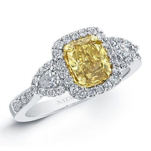 18K WHITE AND YELLOW GOLD FANCY YELLOW CUSHION DIAMOND ENGAGEMENT RING NK20889FY WY 2 500x499 - 18K WHITE AND YELLOW GOLD FANCY YELLOW CUSHION DIAMOND ENGAGEMENT RING NK20889FY-WY