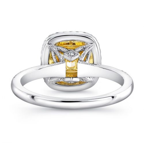 18K WHITE AND YELLOW GOLD YELLOW DIAMOND CENTER AND HALO ENGAGEMENT RING FM30887FY 18WY 2 500x499 - 18K WHITE AND YELLOW GOLD YELLOW DIAMOND CENTER AND HALO ENGAGEMENT RING FM30887FY-18WY