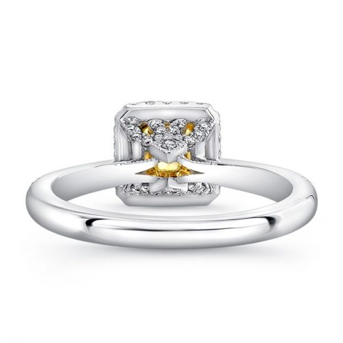 18K WHITE AND YELLOW GOLD YELLOW DIAMOND CENTER WHITE DIAMOND HALO ENGAGEMENT RING FM30880FY 18WY 1 500x499 - 18K WHITE AND YELLOW GOLD YELLOW DIAMOND CENTER WHITE DIAMOND HALO ENGAGEMENT RING FM30880FY-18WY