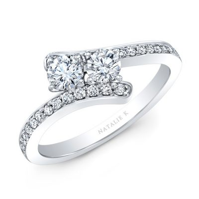 18K WHITE GOLD 2 STONE DIAMOND RING FM34178 18W 400x400 - 18K WHITE GOLD 2 STONE DIAMOND RING FM34178-18W