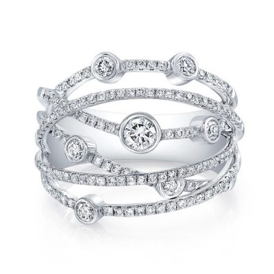 18K WHITE GOLD BEZEL FOREVERMARK® DIAMOND BAND FM29000 18W 400x400 - 18K WHITE GOLD BEZEL FOREVERMARK® DIAMOND BAND FM29000-18W