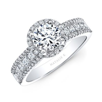 18K WHITE GOLD CHANNEL SET DIAMOND HALO ENGAGEMENT RING NK29364 18W 400x400 - 18K WHITE GOLD CHANNEL SET DIAMOND HALO ENGAGEMENT RING NK29364-18W