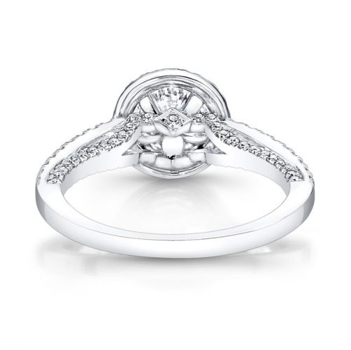 18K WHITE GOLD DIAMOND HALO ART DECO GALLERY ENGAGEMENT RING FM27190 18W 2 500x499 - 18K WHITE GOLD DIAMOND HALO ART DECO GALLERY ENGAGEMENT RING FM27190-18W
