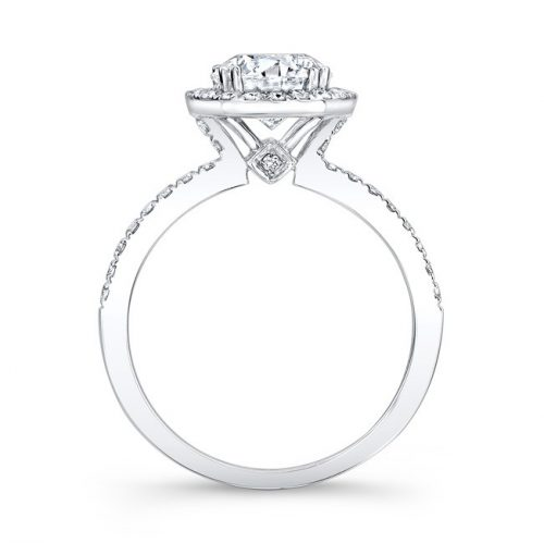 18K WHITE GOLD DIAMOND HALO ENGAGEMENT RING FM26914 18W 1 500x499 - 18K WHITE GOLD DIAMOND HALO ENGAGEMENT RING FM26914-18W