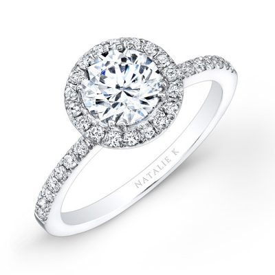 18K WHITE GOLD DIAMOND HALO ENGAGEMENT RING FM26914 18W 400x400 - 18K WHITE GOLD DIAMOND HALO ENGAGEMENT RING FM26914-18W