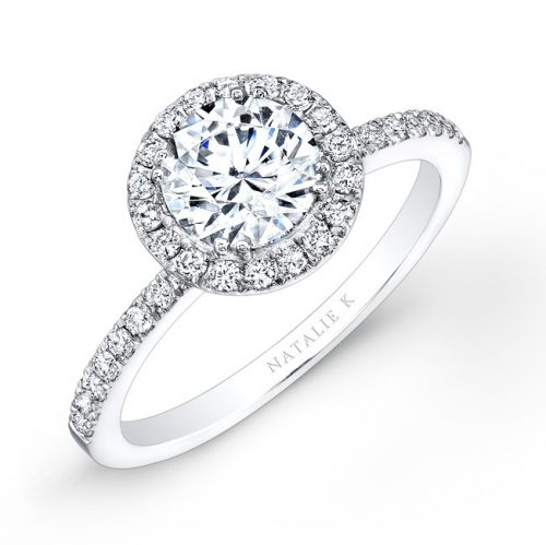 18K WHITE GOLD DIAMOND HALO ENGAGEMENT RING FM26914 18W 500x499 - 18K WHITE GOLD DIAMOND HALO ENGAGEMENT RING FM26914-18W