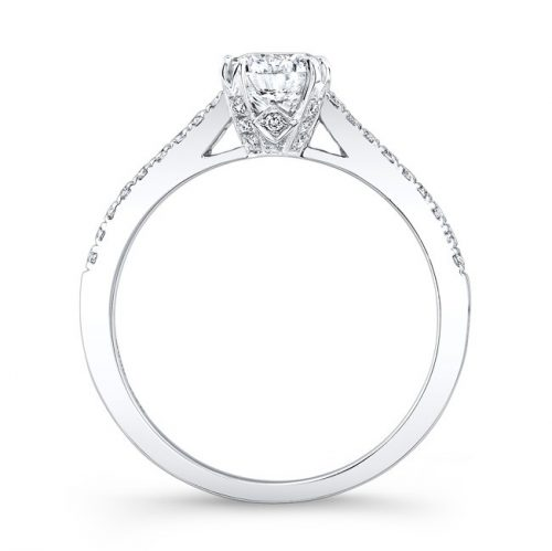 18K WHITE GOLD DIAMOND LINED SPLIT PRONG ENGAGEMENT RING FM26945 18W 1 500x499 - 18K WHITE GOLD DIAMOND LINED SPLIT PRONG ENGAGEMENT RING FM26945-18W