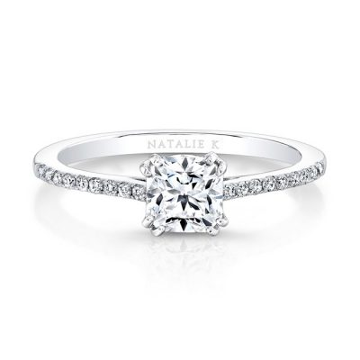 18K WHITE GOLD DIAMOND LINED SPLIT PRONG ENGAGEMENT RING FM26945 18W 400x400 - 18K WHITE GOLD DIAMOND LINED SPLIT PRONG ENGAGEMENT RING FM26945-18W