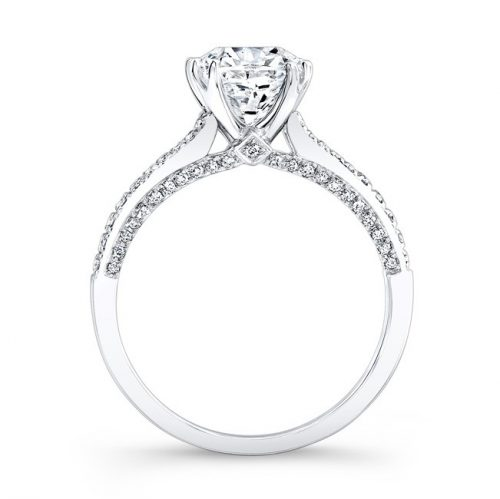 18K WHITE GOLD DIAMOND LINED SPLIT SHANK SPLIT PRONG ENGAGEMENT RING FM26937 18W 2 2 500x499 - 18K WHITE GOLD DIAMOND LINED SPLIT SHANK SPLIT PRONG ENGAGEMENT RING FM26937-18W