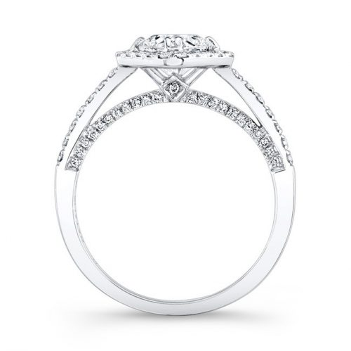 18K WHITE GOLD DIAMOND SHAPED HALO ENGAGEMENT RING FM26979 18W 1 500x499 - 18K WHITE GOLD DIAMOND SHAPED HALO ENGAGEMENT RING FM26979-18W