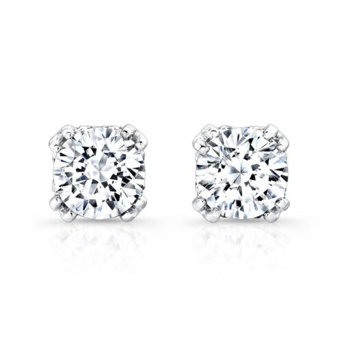 18K WHITE GOLD DIAMOND STUD EARRINGS FM27548 18W 500x500 - 18K WHITE GOLD DIAMOND STUD EARRINGS FM27548-18W