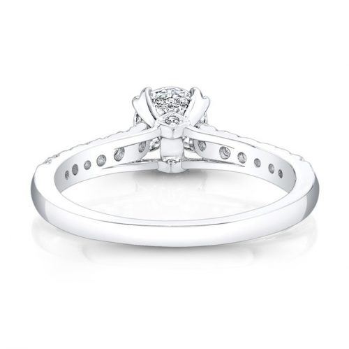 18K WHITE GOLD ELONGATED DIAMOND ACCENTED SHANK ENGAGEMENT RING FM27642 18W 2 500x499 - 18K WHITE GOLD ELONGATED DIAMOND ACCENTED SHANK ENGAGEMENT RING FM27642-18W