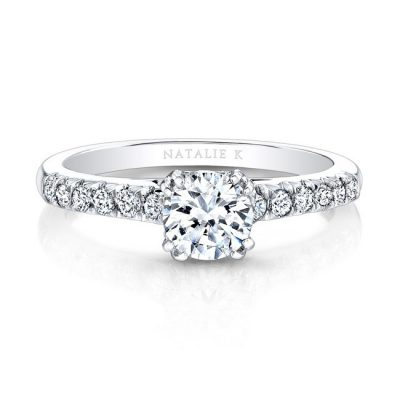 18K WHITE GOLD ELONGATED DIAMOND ACCENTED SHANK ENGAGEMENT RING FM27642 18W 400x400 - 18K WHITE GOLD ELONGATED DIAMOND ACCENTED SHANK ENGAGEMENT RING FM27642-18W