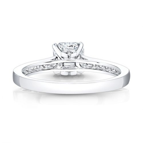 18K WHITE GOLD ELONGATED DIAMOND LINED SHANK ENGAGEMENT RING FM26908 18W 2 500x499 - 18K WHITE GOLD ELONGATED DIAMOND LINED SHANK ENGAGEMENT RING FM26908-18W