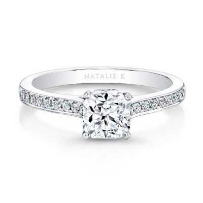 18K WHITE GOLD ELONGATED DIAMOND LINED SHANK ENGAGEMENT RING FM26908 18W 400x400 - 18K WHITE GOLD ELONGATED DIAMOND LINED SHANK ENGAGEMENT RING FM26908-18W
