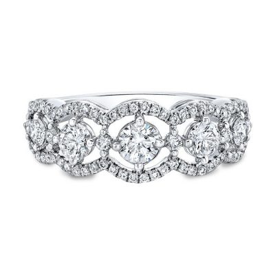 18K WHITE GOLD FOREVERMARK® DIAMOND BAND FM31270 18W 400x400 - 18K WHITE GOLD FOREVERMARK® DIAMOND BAND FM31270-18W