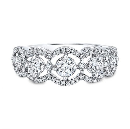 18K WHITE GOLD FOREVERMARK® DIAMOND BAND FM31270 18W 500x499 - 18K WHITE GOLD FOREVERMARK® DIAMOND BAND FM31270-18W