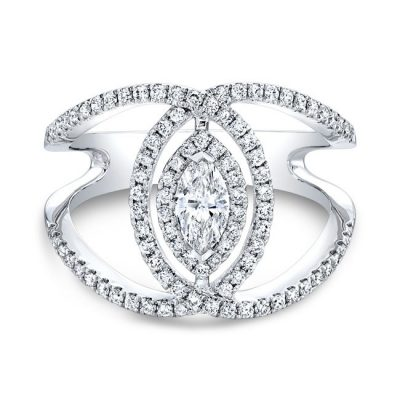 18K WHITE GOLD FOREVERMARK® DIAMOND BAND FM33169 18W 400x400 - 18K WHITE GOLD FOREVERMARK® DIAMOND BAND FM33169-18W