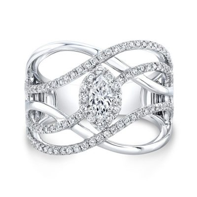 18K WHITE GOLD FOREVERMARK® DIAMOND BAND FM33254 18W 400x400 - 18K WHITE GOLD FOREVERMARK® DIAMOND BAND FM33254-18W