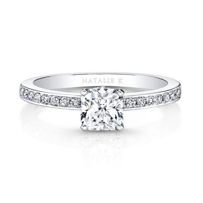 18K WHITE GOLD MODERN SLEEK BAND ENGAGEMENT RING FM26915 18W 400x400 - 18K WHITE GOLD MODERN SLEEK BAND ENGAGEMENT RING FM26915-18W