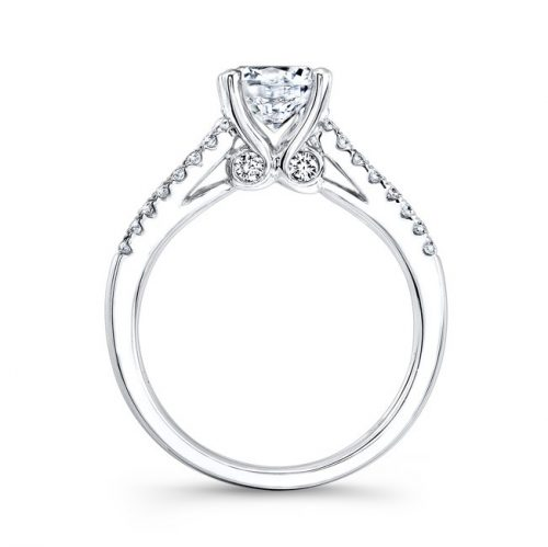 18K WHITE GOLD PRONG AND CHANNEL WHITE DIAMOND ENGAGEMENT RING NK23626 W 1 500x499 - 18K WHITE GOLD PRONG AND CHANNEL WHITE DIAMOND ENGAGEMENT RING NK23626-W
