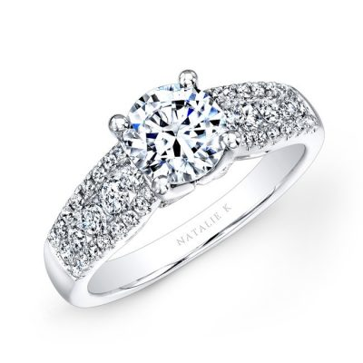 18K WHITE GOLD PRONG AND CHANNEL WHITE DIAMOND ENGAGEMENT RING NK23626 W 400x400 - 18K WHITE GOLD PRONG AND CHANNEL WHITE DIAMOND ENGAGEMENT RING NK23626-W