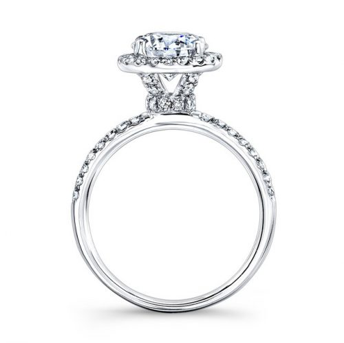 18K WHITE GOLD PRONG SET HALO WHITE DIAMOND ENGAGEMENT RING NK26149 W 1 500x499 - 18K WHITE GOLD PRONG SET HALO WHITE DIAMOND ENGAGEMENT RING NK26149-W