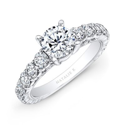 18K WHITE GOLD PRONG SET ROUND DIAMOND ENGAGEMENT RING NK10409 18W 400x400 - 18K WHITE GOLD PRONG SET ROUND DIAMOND ENGAGEMENT RING NK10409-18W