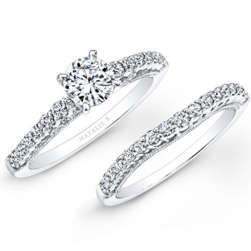18K WHITE GOLD PRONG SET WHITE DIAMOND BRIDAL SET NK25849WE W 500x500 - 18K WHITE GOLD PRONG SET WHITE DIAMOND BRIDAL SET NK25849WE-W