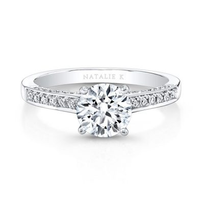 18K WHITE GOLD PRONGSET DIAMOND BAND ENGAGEMENT RING FM26926 18W 400x400 - 18K WHITE GOLD PRONGSET DIAMOND BAND ENGAGEMENT RING FM26926-18W