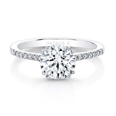18K WHITE GOLD SPLIT PRONG CENTER MOUNTING MILGRAIN GALLERY ENGAGEMENT RING FM26951 18W 400x400 - 18K WHITE GOLD SPLIT PRONG CENTER MOUNTING MILGRAIN GALLERY ENGAGEMENT RING FM26951-18W