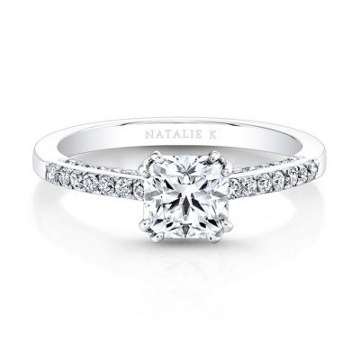 18K WHITE GOLD SPLIT PRONG DIAMOND BAND AND GALLERY ENGAGEMENT RING FM26917 18W 400x400 - 18K WHITE GOLD SPLIT PRONG DIAMOND BAND AND GALLERY ENGAGEMENT RING FM26917-18W