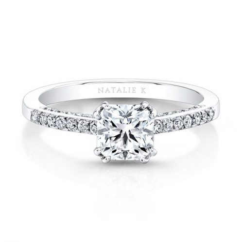 18K WHITE GOLD SPLIT PRONG DIAMOND BAND AND GALLERY ENGAGEMENT RING FM26917 18W 500x499 - 18K WHITE GOLD SPLIT PRONG DIAMOND BAND AND GALLERY ENGAGEMENT RING FM26917-18W