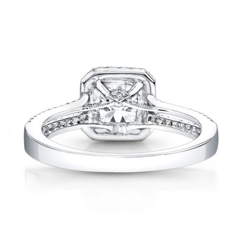 18K WHITE GOLD SPLIT PRONG SQUARE HALO DIAMOND ENGAGEMENT RING FM27001 18W 2 500x500 - 18K WHITE GOLD SPLIT PRONG SQUARE HALO DIAMOND ENGAGEMENT RING FM27001-18W