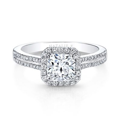 18K WHITE GOLD SPLIT PRONG SQUARE HALO DIAMOND ENGAGEMENT RING FM27001 18W 400x400 - 18K WHITE GOLD SPLIT PRONG SQUARE HALO DIAMOND ENGAGEMENT RING FM27001-18W