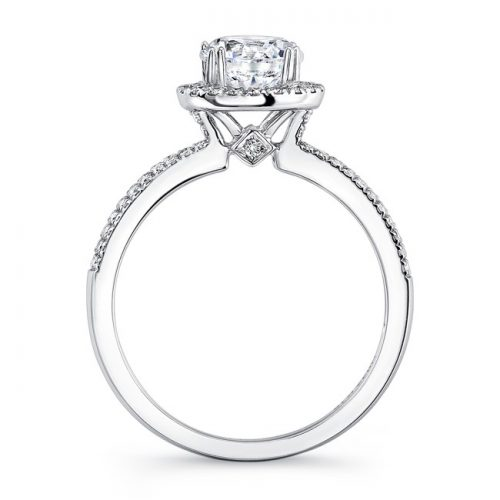 18K WHITE GOLD SQUARE HALO ENGAGEMENT RING FM27007 18W 1 500x500 - 18K WHITE GOLD SQUARE HALO ENGAGEMENT RING FM27007-18W