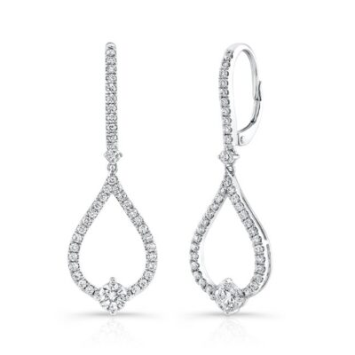 18K WHITE GOLD TEAR DROP DIAMOND DROP EARRINGS FM29015 18W 400x400 - 18K WHITE GOLD TEAR DROP DIAMOND DROP EARRINGS FM29015-18W