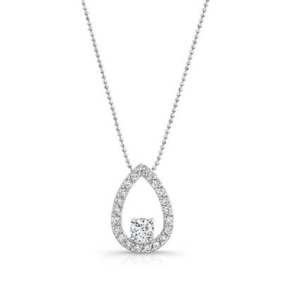 18K WHITE GOLD TEAR DROP DIAMOND PENDANT FM29099 18W 400x400 - 18K WHITE GOLD TEAR DROP DIAMOND PENDANT FM29099-18W