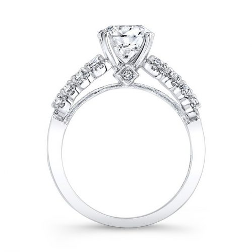 18K WHITE GOLD THICK PRONG SET DIAMOND BAND ENGAGEMENT RING FM26986 18W 1 500x499 - 18K WHITE GOLD THICK PRONG SET DIAMOND BAND ENGAGEMENT RING FM26986-18W