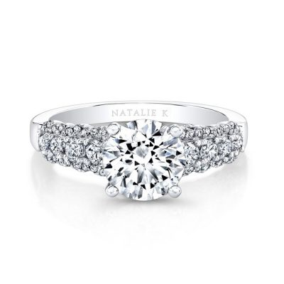 18K WHITE GOLD THICK PRONG SET DIAMOND BAND ENGAGEMENT RING FM26986 18W 400x400 - 18K WHITE GOLD THICK PRONG SET DIAMOND BAND ENGAGEMENT RING FM26986-18W