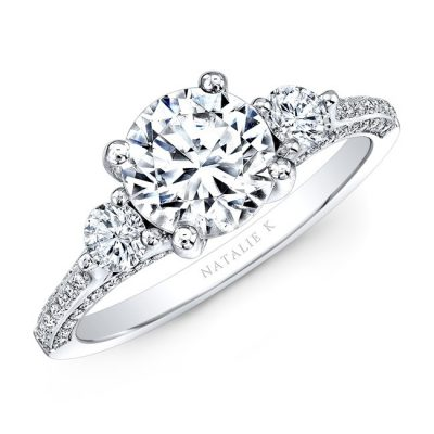 18K WHITE GOLD THREE STONE DIAMOND ENGAGEMENT RING NK29609ZTD W 400x400 - 18K WHITE GOLD THREE STONE DIAMOND ENGAGEMENT RING NK29609ZTD-W