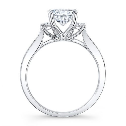 18K WHITE GOLD THREE STONE DIAMOND ENGAGEMENT RING NK29675 18W 1 500x499 - 18K WHITE GOLD THREE STONE DIAMOND ENGAGEMENT RING NK29675-18W