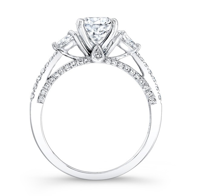 stones with cut collections accent large brilliant heart diamond round rings ring engagement solitaire diamonds side