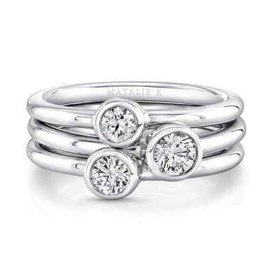 18K WHITE GOLD THREE STONE STACKABLE BANDS FM29106 18W 400x400 - 18K WHITE GOLD THREE STONE STACKABLE BANDS FM29106-18W