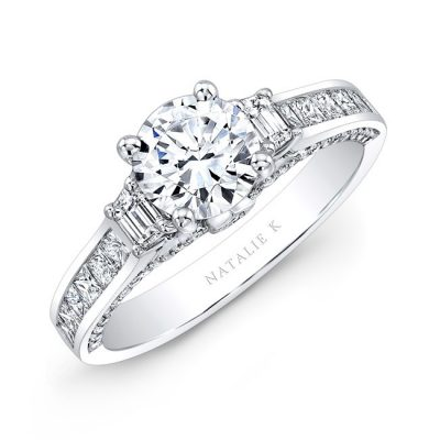 18K WHITE GOLD TRAPEZOID DIAMOND SIDE STONE PRINCESS CUT CHANNELSET SHANK ENGAGEMENT RING NK28716 18W 400x400 - 18K WHITE GOLD TRAPEZOID DIAMOND SIDE STONE PRINCESS CUT CHANNELSET SHANK ENGAGEMENT RING NK28716-18W