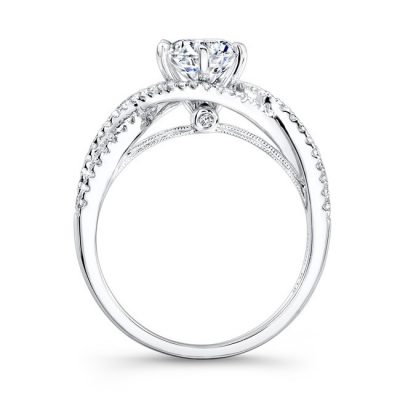 18K WHITE GOLD TWISTED SHANK DIAMOND ENGAGEMENT RING NK26225 W 1 400x400 - 18K WHITE GOLD TWISTED SHANK DIAMOND ENGAGEMENT RING NK26225-W