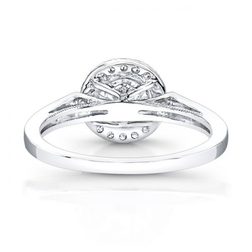 18K WHITE GOLD VINTAGE INSPIRED DIAMOND HALO ENGAGEMENT RING FM27028 18W 2 500x500 - 18K WHITE GOLD VINTAGE INSPIRED DIAMOND HALO ENGAGEMENT RING FM27028-18W