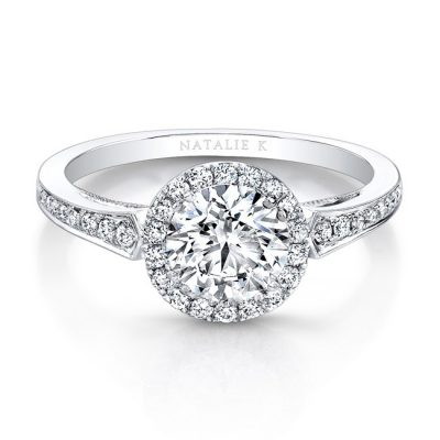 18K WHITE GOLD VINTAGE INSPIRED DIAMOND HALO ENGAGEMENT RING FM27028 18W 400x400 - 18K WHITE GOLD VINTAGE INSPIRED DIAMOND HALO ENGAGEMENT RING FM27028-18W