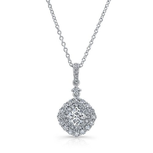18K WHITE GOLD WHITE DIAMOND DOUBLE CUSHION HALO PENDANT FM31666 18W 500x500 - 18K WHITE GOLD WHITE DIAMOND DOUBLE CUSHION HALO PENDANT FM31666-18W
