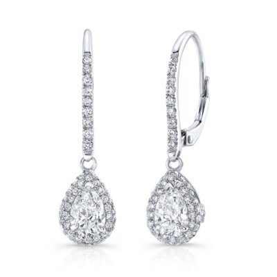18K WHITE GOLD WHITE DIAMOND PEAR SHAPED DROP EARRINGS FM30908 18W 400x400 - 18K WHITE GOLD WHITE DIAMOND PEAR SHAPED DROP EARRINGS FM30908-18W